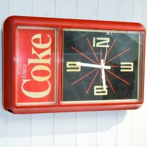 orologio cocacola da parete anni 80