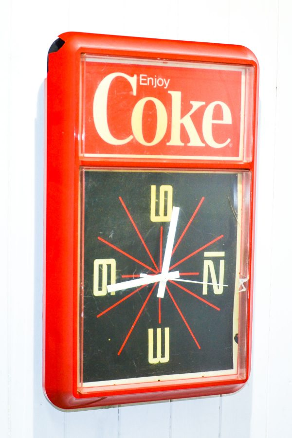 Orologio parete coca cola vintage anni '80