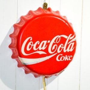 Insegna Coca Cola tappo luminosa