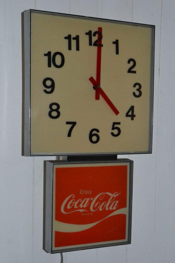 orologio da muro cocacola