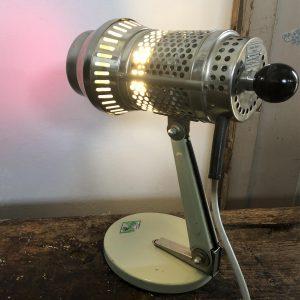 Lampada industriale da tavolo anni '70