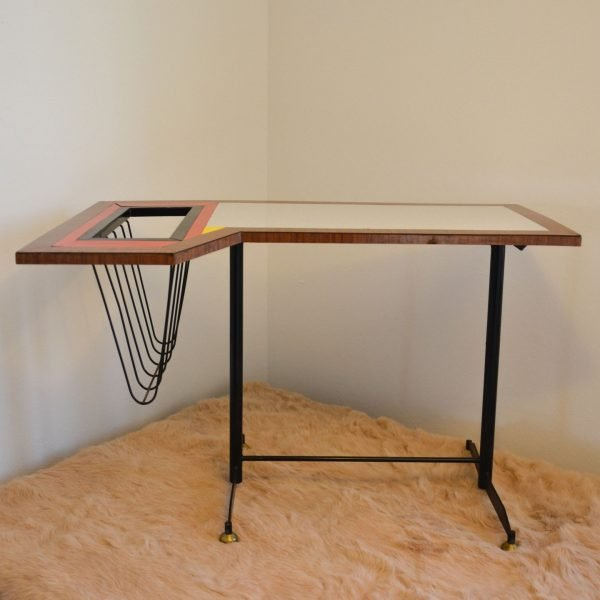 Tavolino da caffè e portariviste modernariato
