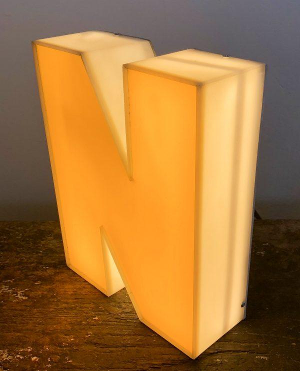 lettera vintage scatolata n
