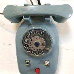 telefono vintage centralino inter comunicante