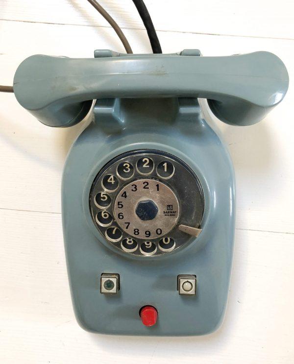 Telefono vintage centralino per intercomunicazioni modello TS8309