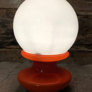 Lampada da Tavolo in vetro anni 70