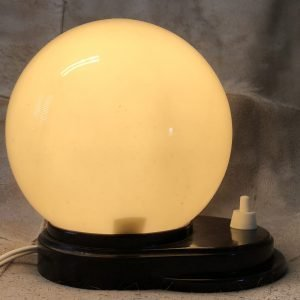 lampada vetro opalino