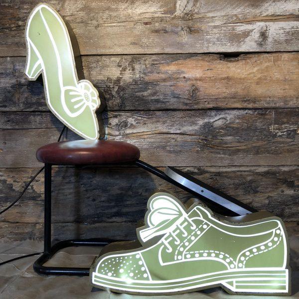 Insegna Vintage Calzature Uomo Donna All