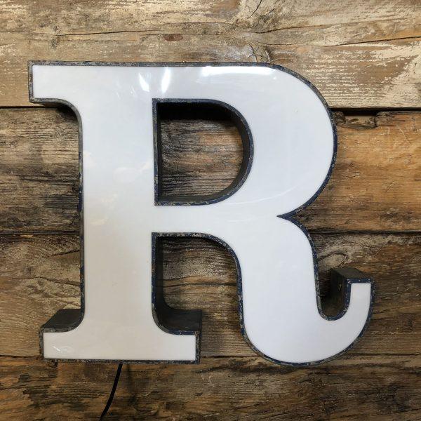 lettera vintage da arredo R