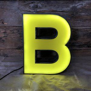 B – Lettera Vintage da Arredamento | Insegna in Ferro