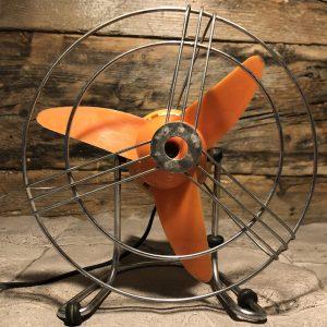 Ventilatore Vintage Arancio anni 60/70