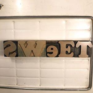 sweet caratteri tipografici vintage