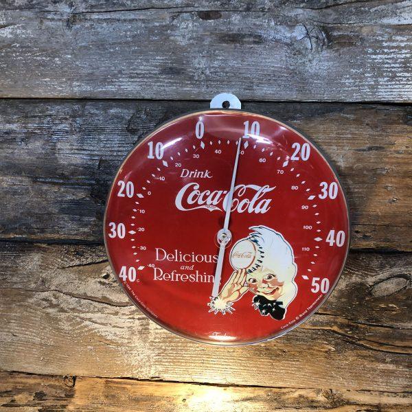 Termometro Coca-Cola anni 80 da parete