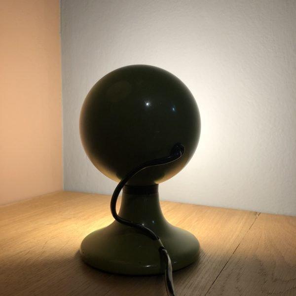 lampada eyeball verde dietro