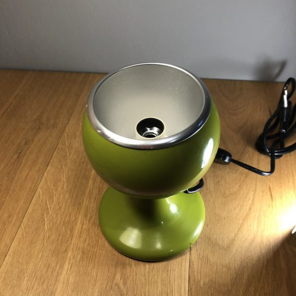 lampada eyeball verde alto