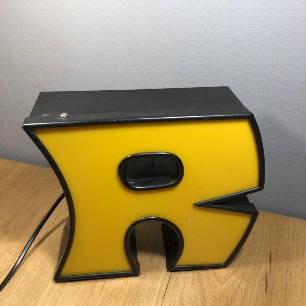 Lettera R Vintage scatolata