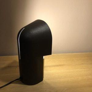 lampada pala anni 70 accesa fascio luce