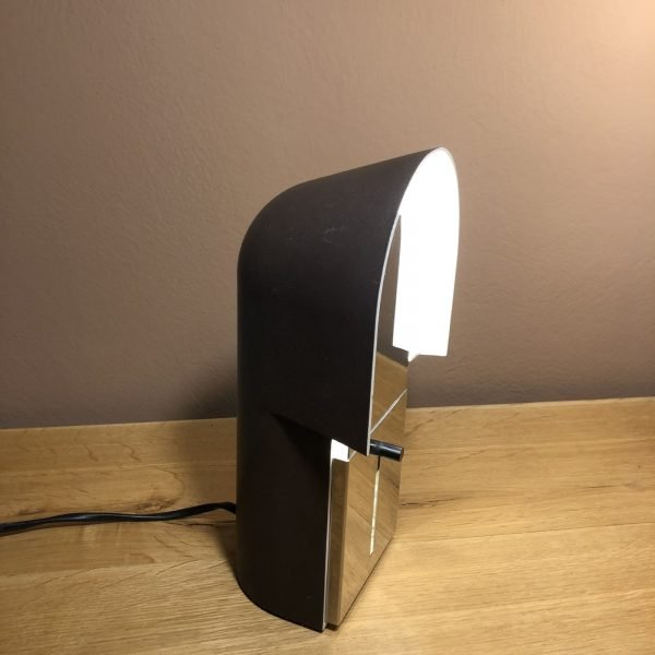 lampada pala anni 70 accesa lato
