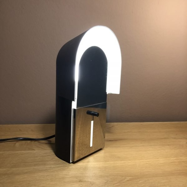 lampada pala anni 70 accesa linguetta chiusa