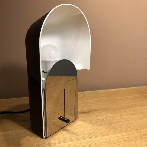 lampada pala anni 70 linguetta aperta