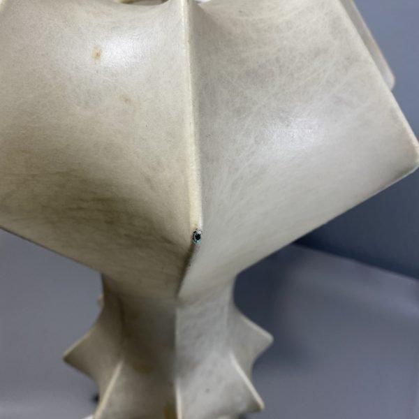 lampada cocoon anni 60-70 dettaglio
