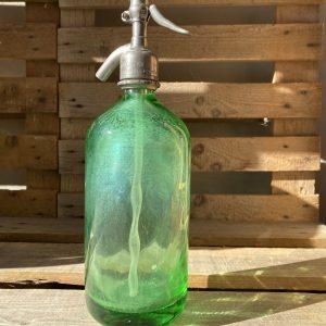 Sifone in vetro Verde per Seltz